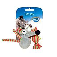 DUVO+ Myš plyšová s bonbónem 7,5 × 7 × 3,5 cm - Hračka pro kočky