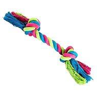 Trixie Hiphop Uzel bavlněný 2 knoty růžovo-modro-zelený