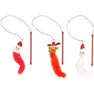 Flamingo Vánoční hračka sněhulák, santa, sob