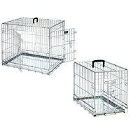 Karlie Drátěná klec dva vchody 93 × 57 × 62 cm - Klec pro psa