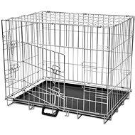 Shumee Klec skládací kovová velikost L   - Klec pro psa