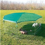 Trixie Playpen 80 × 75cm 8 parts, including Safety Net - Pen for Rodents