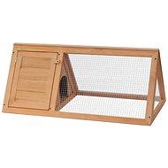 Shumee Králíkárna dřevěná 98 × 50 × 41 cm - Králíkárna