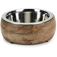Pet Amour Mandira Wood 800ml - Dog Bowl
