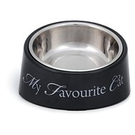 Pet Amour DBL My Favourite Cat Grey 200ml - Cat Bowl