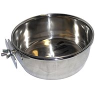 Akinu Stainless-steel Bowl in a Cage with a Nut - Bowl for Rodents