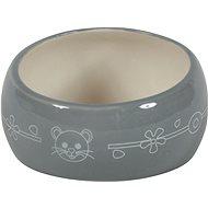 Zolux Ceramic Bowl Grey 200ml - Bowl for Rodents