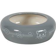 Zolux Ceramic Bowl Grey 100ml - Bowl for Rodents