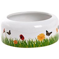 Flamingo Decorative Ceramic Bowl 250ml - Bowl for Rodents