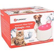 Fontána pro kočky Flamingo Automatická fontánka Bellagio růžová 2000ml