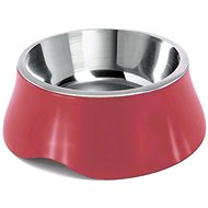 IMAC Miska pro psa nerez plast červená 1900 ml