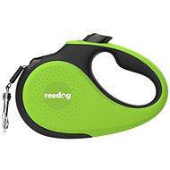 Reedog Senza Premium samonavíjecí vodítko S 15 kg / 5 m páska / zelené