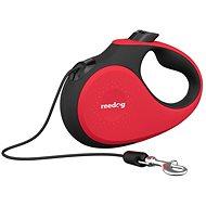 Reedog Senza Premium samonavíjecí vodítko S 12 kg / 5 m lanko / červené - Vodítko pro psa