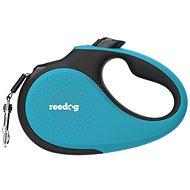 Vodítko pro psa Reedog Senza Premium samonavíjecí vodítko L  50 kg / 5 m páska / tyrkysové - Vodítko pro psa