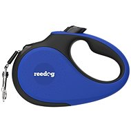 Reedog Senza Premium samonavíjecí vodítko L  50 kg / 5 m páska / modré
