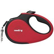 Vodítko pro psa Reedog Senza Premium samonavíjecí vodítko L  50 kg / 5 m páska / červené - Vodítko pro psa