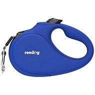 Vodítko pro psa Reedog Senza Basic samonavíjecí vodítko S 15 kg / 5 m páska / modré - Vodítko pro psa