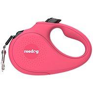 Reedog Senza Basic samonavíjecí vodítko M 25 kg / 5 m páska / růžové - Vodítko pro psa