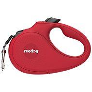 Reedog Senza Basic samonavíjecí vodítko M 25 kg / 5 m páska / červené - Vodítko pro psa