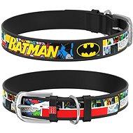 Waudog Obojek kožený DC Batman komiks 20-28 cm/1,2 cm - Obojek pro psy