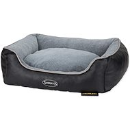 SCRUFFS Chateau Memory Foam Orthopedic Box blue M - Dog Bed