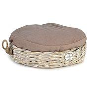 Pet Amour Kubu Round Rattan Basket 50cm