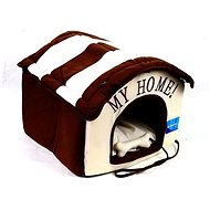 Petproducts My Home with a Toy Beige Brown 40 × 40 × 34cm - Bed