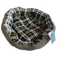 Petproducts Lair with Paw, Grey 45 × 40cm - Bed