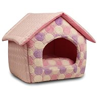 Petproducts House Pink 41 × 39 × 41cm - Bed