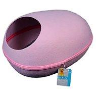 Petproducts Kočičí skrýš růžová 48 × 38 × 22 cm - Pelíšek