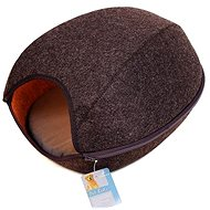 Petproducts Ca's Hide-out, Brown 48 × 38 × 22cm - Bed