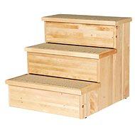 Trixie Pet Stairs dřevěné 40 × 38 × 45 cm - Schůdky pro psy