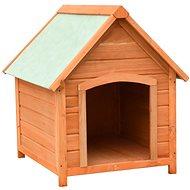 Shumee Psí bouda masivní borové a jedlové dřevo 72 × 85 × 82 cm -  Bouda pro psa