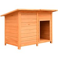 Shumee Kennel Solid Pine and Fir Wood 120 × 77 × 86cm - Dog House