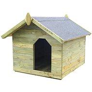 Zahradní psí bouda s otevírací střechou impregnovaná borovice 85 × 103,5 × 72 cm -  Bouda pro psa