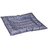Flamingo Chladící pelíšek pro psy šedý vzor kapky 56 × 66 cm - Chladící podložka pro psy