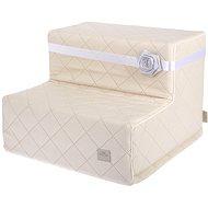 Easy Upp Barbara malé schůdky krémové 40 × 40 × 30 cm - Schůdky pro psy