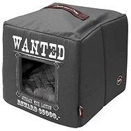 EBI D&D Home Collection Wanted Pet Cube Grey 40 × 40 × 40 cm - Pelíšek