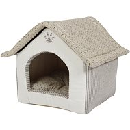 PetProducts Domek pro psy béžový 40 × 40 × 40 cm - Pelíšek