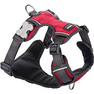 Red Dingo Padded Harness, Red