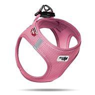 Pet Amour Curli Vest Air-Mesh růžový S - Postroj
