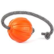 Liker Cord 9cm with Rope - Dog Toy Ball