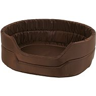 Olala Pets Agga LOW No.7, pet bed 82 × 68 × 22 cm, brown - Dog Bed