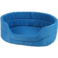 Olala Pets Agga LOW No.5, Pet Bed 66 × 55 × 17cm, Blue - Dog Bed