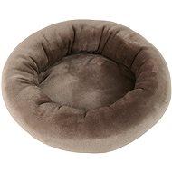 Pelíšek Olala Pets Round pelíšek 40 cm, hnědý