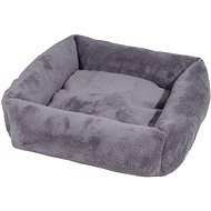 Olala Pets Cube LOW A26, Dog Bed 53 × 53 cm, Gray - Dog Bed