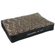 Olala Pets Ortopedická matrace De Luxe 90 × 60 cm , leopard - Matrace pro psy