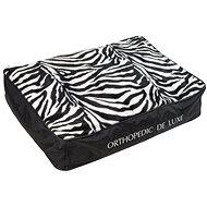 Olala Pets Ortopedická matrace De Luxe 90 × 60 cm zebra - Matrace pro psy