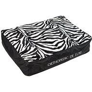 Olala Pets Ortopedická matrace De Luxe 160 × 130 cm zebra - Matrace pro psy