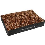 Matrace pro psy Olala Pets Ortopedická matrace De Luxe 160 × 130 cm , žirafa